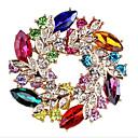 preiswerte Moderinge-Damen Stilvoll Broschen - Blattform, Blume Süß, Modisch Brosche Blau / Rot Für Formal / Verabredung