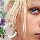 ieftine Cercei la Modă-Pentru femei Gol Cercei Rotunzi - Donuts Simplu, Γεωμετρικά, Corean Rosu / Albastru / Roz Pentru Zilnic Școală