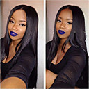 cheap Human Hair Wigs-Remy Human Hair U Part Wig Middle Part style Brazilian Hair Silky Straight Wig 130% Density with Baby Hair For Black Women Natural Women's Medium Length Human Hair Lace Wig Aili Young Hair