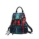 cheap Backpacks-Women's Bags Polyester Backpack Zipper Red