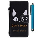 cheap Cell Phone Cases & Screen Protectors-Case For Huawei P20 lite / Huawei P smart Wallet / Card Holder / with Stand Full Body Cases Cat Hard PU Leather for Huawei P20 / Huawei P20 lite / Huawei P smart