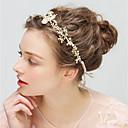 baratos Acessórios de Cabelo-Liga Headbands com Pedrarias / Pérolas Sintéticas 1pç Casamento / Festa / Noite Capacete