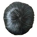 povoljno Tupe-Muškarci Ljudska kosa Tupe Ravan kroj Full Lace Nježno