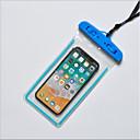 halpa iPhone kotelot-Etui Käyttötarkoitus Apple iPhone X / iPhone 8 Plus / iPhone 8 Vedenkestävä Pikku pussi Yhtenäinen Pehmeä TPU