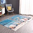 זול שטיחים-שטיחון לדלת כניסה יום יומי / מודרני polyster, מלבני איכות מעולה שָׁטִיחַ / החלקה ללא