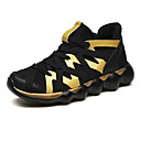 cheap Women's Sneakers-Women's Shoes Canvas Fall & Winter Comfort Athletic Shoes Running Shoes Flat Heel Gold / Black / Red