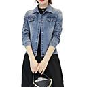 preiswerte Halsketten-Damen - Zeitgenössisch Grundlegend Jeansjacke