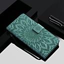 ieftine Cazuri telefon & Protectoare Ecran-Maska Pentru OnePlus OnePlus 6 / OnePlus 5T Portofel / Titluar Card / Cu Stand Carcasă Telefon Floare Greu PU piele pentru OnePlus 6 / One Plus 5 / OnePlus 5T