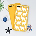 billige Telefonetuier & Skjermbeskyttere-Etui Til Apple iPhone X / iPhone 8 Plus Mønster Bakdeksel Tegneserie Myk TPU til iPhone X / iPhone 8 Plus / iPhone 8