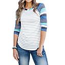 זול שרשרת אופנתית-חולצה לנשים - צוואר מפוספס