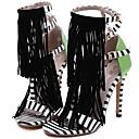 povoljno Ženske sandale-Žene Cipele Sintetika Proljeće ljeto D'Orsay cipele Sandale Stiletto potpetica S resicama Obala / Zabava i večer