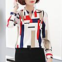 billige Taklamper-Bluse Dame - Geometrisk / Fargeblokk, Trykt mønster Gatemote