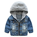 povoljno Jakne i kaputi za dječake-Djeca Dječaci Osnovni Kolaž Kolaž Dugih rukava Pamuk Odijelo i sako