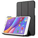 billige PS4-tilbehør-PU Leather Ensfarget Tablet Cases Lenovo