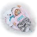 ราคาถูก Reborn Dolls-NPKCOLLECTION ตุ๊กตา NPK Reborn Dolls ตุ๊กตาสาว เด็กผู้หญิง 24 inch ทารกแรกเกิด เหมือนจริง ของขวัญ ปฏิสัมพันธ์ระหว่างพ่อแม่และลูก ขนตาปลอมมือ เล็บปลอมและเล็บ เด็ก เด็กผู้หญิง Toy ของขวัญ