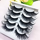 cheap Hair Braids-Eyelash Extensions False Eyelashes 10 pcs Extra Long Volumized Curly Beauty Fiber Event / Party Daily Wear Thick Natural Long - Makeup Daily Makeup Halloween Makeup Party Makeup Trendy High Quality