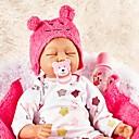 baratos Spinners de mão-FeelWind Bonecas Reborn Bebês Meninas 22 polegada Recém nascido realista Á Mão Mohair Rooted à mão Nozes vedadas e seladas de Criança Para Meninas Brinquedos Dom