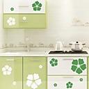 baratos Adesivos de Parede-Autocolantes de Parede Decorativos - Autocolantes de Parede Espelho Floral / Botânico Interior