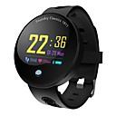 זול שעונים חכמים-חכמים שעונים Q8_VO ל Android 4.3 ומעלה / iOS 7 ומעלה מוניטור קצב לב / עמיד במים / מודד לחץ דם / כלוריות שנשרפו / מעקב אימון מד צעדים / מזכיר שיחות / מעקב שינה / תזכורת בישיבה / Alarm Clock / NRF51822