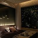 billige LED Økende Lamper-Klistermærker til kontakter - Fly vægklistermærker / Selvlysende mur klistermærker Halloween / Højtid Innendørs / Barnerom