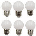cheap LED Globe Bulbs-6pcs 2 W LED Globe Bulbs 80 lm E26 / E27 G45 8 LED Beads SMD 2835 Decorative Christmas Wedding Decoration Warm White Cold White 220-240 V / RoHS
