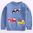 povoljno Džemperi i kardigani za dječake-Djeca Dječaci Print Dugih rukava Džemper i kardigan