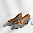 ieftine Ghete de Damă-Pentru femei Pantofi Piele Vară Confortabili / Balerini Basic Tocuri Toc Îndesat Negru / Galben / Albastru