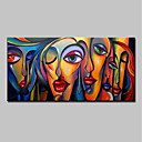 cheap People Paintings-Mintura® Large Size Hand Painted Abstract Sexy Girl Oil Painting On Canvas Modern Wall Art Picture For Home Decoration No Frame
