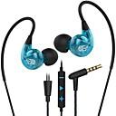 tanie Słuchawki i zestawy słuchawkowe-Factory OEM SP90 Douszny Przewodowy / a Słuchawki Słuchawka ABS + PC Telefon komórkowy Słuchawka z mikrofonem / Z kontrolą głośności Zestaw słuchawkowy