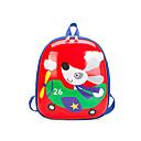 olcso Preschool Backpacks-Uniszex Táskák Műanyag hátizsák Cipzár Lóhere / Rubin / Arcpír rózsaszín