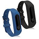 halpa Kuluttajaelektroniikka-Watch Band varten Mi Band 2 Xiaomi Urheiluhihna Silikoni Rannehihna