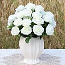 ieftine Flori Artificiale-Flori artificiale 1 ramură Clasic Stilat Trandafiri Față de masă flori