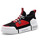 tanie Adidasy męskie-Męskie Komfortowe buty Siateczka / PU Jesień i zima Adidasy Kolorowy blok Czerwony / Zielony / Khaki