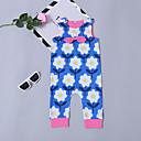 ieftine Set Îmbrăcăminte Bebeluși-Bebelus Fete Activ / De Bază Sport Floral Fără manșon Bumbac O - piesă / Copil