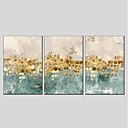 cheap Prints-Print Stretched Canvas - Abstract Modern Three Panels