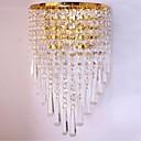 preiswerte Wandleuchten-QIHengZhaoMing Kristall LED / Modern / Zeitgenössisch Wandlampen Shops / Cafés / B¨¹ro Metall Wandleuchte 110-120V / 220-240V 3 W