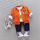 ieftine Set Îmbrăcăminte Băieți Bebeluși-Bebelus Băieți Panda Imprimeu Manșon Lung Set Îmbrăcăminte