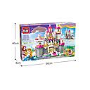 tanie Building Blocks-Klocki 938 pcs Księżniczka Kreatywne Zabawka na koncentrację Zabawa z logo Apple Zabawny Wszystko Dla chłopców Dla dziewczynek Zabawki Prezent