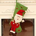 baratos Smartwatch Acessórios-Meias de Natal Férias Tecido de Algodão Quadrada Novidades Decoração de Natal