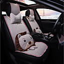 cheap TV Boxes-ODEER Car Seat Covers Seat Covers Beige Textile Cartoon / Common For universal All years All Models