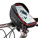 cheap Bike Handlebar Bags-Wheel up Cell Phone Bag / Bike Handlebar Bag 6 inch Touch Screen, Reflective Cycling for Cycling / iPhone X / iPhone XR Black