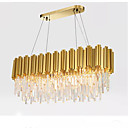tanie Kinkiety zewnętrzne-QIHengZhaoMing 10 świateł Żyrandol Światło rozproszone Galwanizowany Metal 110-120V / 220-240V Ciepła biel Zawiera żarówkę