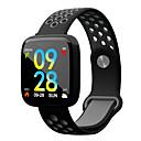 olcso Okosórák-Intelligens karkötő F15 mert Android iOS Bluetooth Sportok Vízálló Szívritmus monitorizálás Vérnyomásmérés Elégetett kalória Dugók & Töltők Lépésszámláló Hívás emlékeztető Alvás nyomkövető / NRF52832