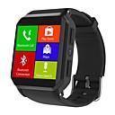 olcso Okosórák-Intelligens Watch JSBP-KW06 mert Android 3G Bluetooth Sportok Vízálló Szívritmus monitorizálás Érintőképernyő Elégetett kalória Lépésszámláló Hívás emlékeztető Testmozgásfigyelő Alvás nyomkövető