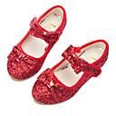 ราคาถูก รองเท้าเด็กผู้หญิง-เด็กผู้หญิง รองเท้า Synthetics ฤดูใบไม้ผลิ & ฤดูใบไม้ร่วง รองเท้าสาวดอกไม้ รองเท้าส้นสูง ปมผ้า / เมจิกเทป สำหรับ เด็ก เงิน / แดง / สีชมพู / พรรคและเย็น