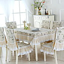 cheap Table Cloths-Contemporary Cotton Square Table Cloth Geometric Table Decorations 1 pcs
