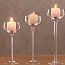 ieftine Lumânări & Suport de Lumânări-Stil European Hârtie Reciclabilă Suporturi Lumânări Candelabra 1 buc, Lumânare / Suport pentru lumânări