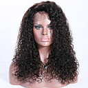 cheap Human Hair Wigs-Remy Human Hair Lace Front Wig Brazilian Hair Curly Wig Layered Haircut 150% Hair Density Best Quality New Black Women's Long Human Hair Lace Wig Premierwigs