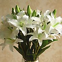 cheap Artificial Flower-Artificial Flowers 1 Branch Classic / Single Stylish / Pastoral Style Lilies Tabletop Flower
