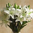 billige Kunstig Blomst-Kunstige blomster 1 Gren Klassisk / Singel Stilfull / Pastorale Stilen Liljer Bordblomst